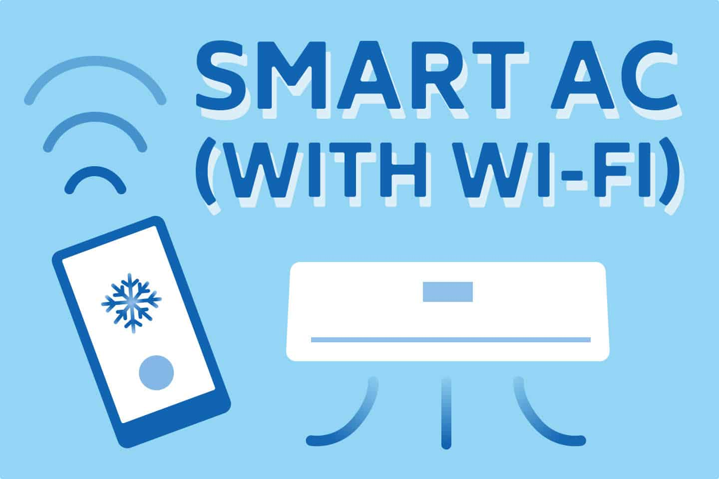 ❄️ Smart Air Conditioners (With Wi-Fi)