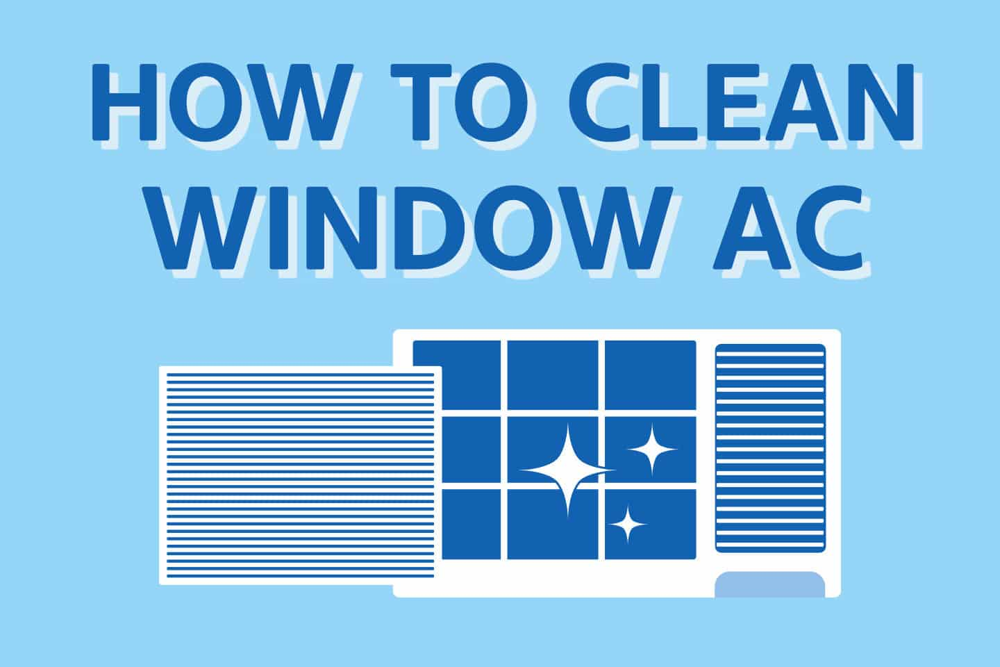 ❄️ How To Clean Window Air Conditioner Without Removing It