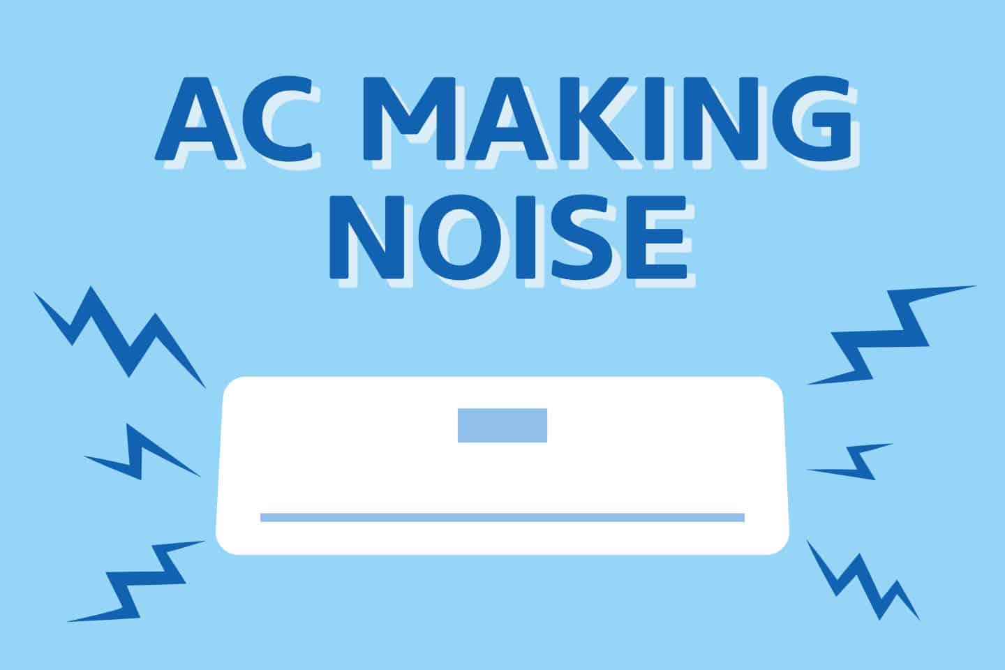 ❄️ 9 Different Noises Your AC Is Making [Quickly FIX Them]