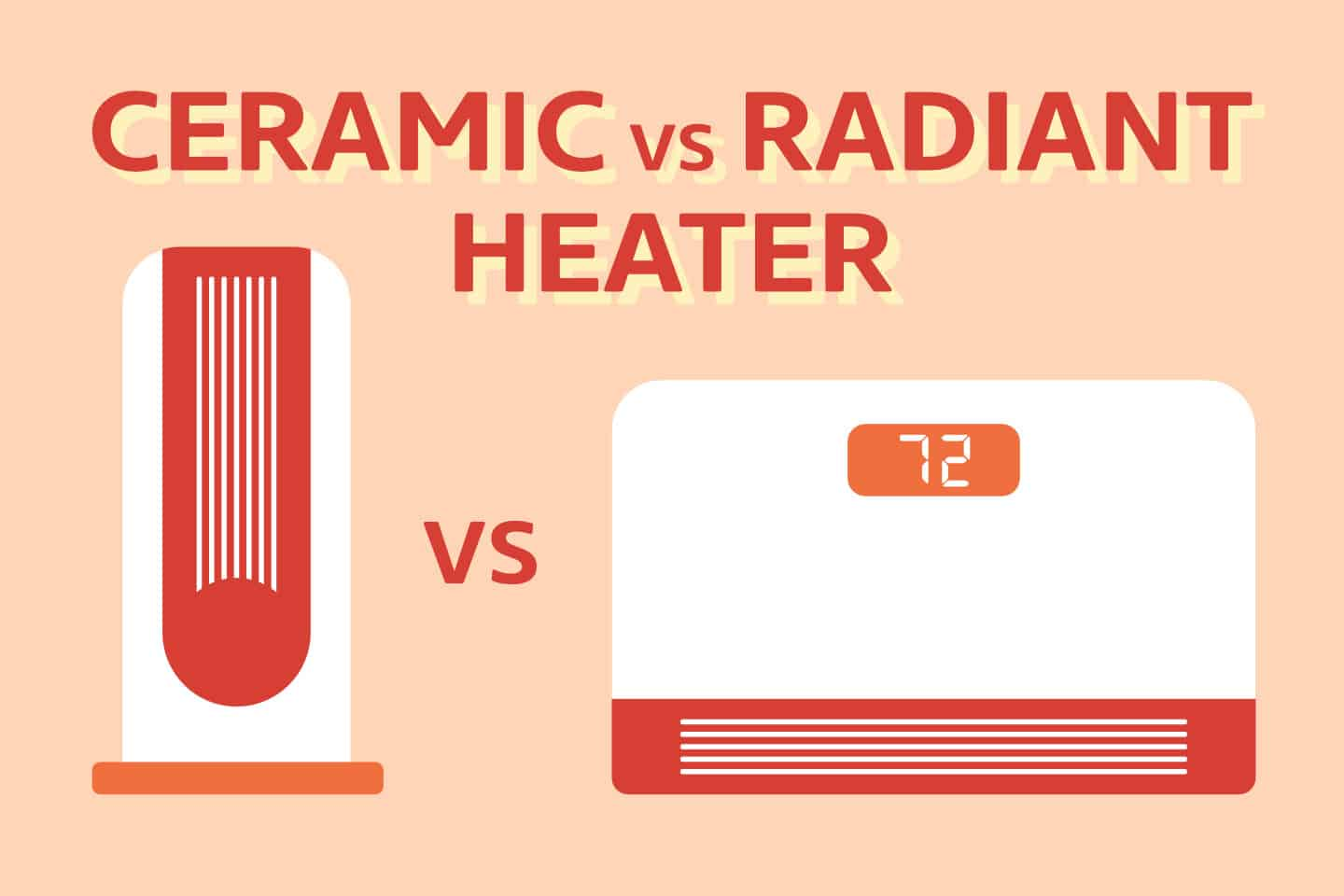 Ceramic vs Radiant Heater [Which One's Better & WHY]
