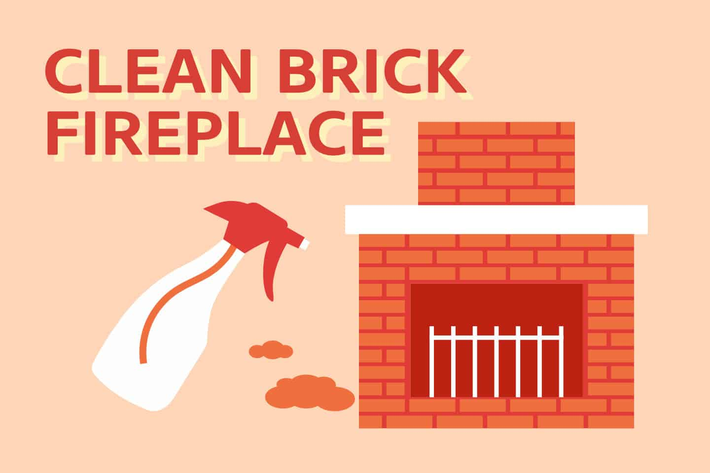 How To Clean Brick Fireplace [2 Best Ways]