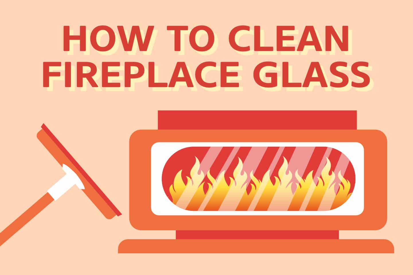 How To Clean Fireplace Glass Doors Quickly [3 SECRET Methods]